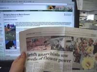 A queda de influência dos jornais e TVs