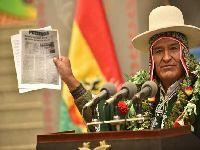 Evo Morales garante apoio para projetos do Fundo Indígena. 31185.jpeg