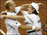 Nikolay Davydenko e Igor Andreev na semifinal do Masters Series de Monte Carlo