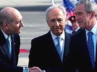 Árabes  observam com ceticismo a visita de Bush