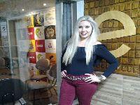 Blogueira Priscila Sabino vem se destacando no comando de seu programa. 25196.jpeg
