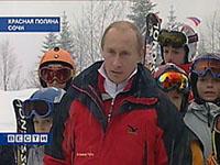 Putin  apresenta a cidade de Sochi para comissão do Comitê Olímpico Internacional