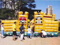 Dono de  brinquedos infláveis iniciado por humicídio de duas crianças