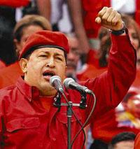 Chávez pode usar tanques nas eleições