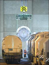 Resíduos radioativos chegam à Alemanha