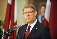 Presidente letão pode visitar Rússia