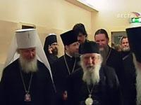 Delegação da Igreja Ortodoxa Russa no Exterior chegou a Moscou