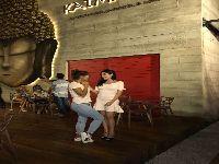 Ricky Tavares, Juliana Xavier e Marcela Barrozo prestigiam evento de badalado restaurante. 28210.jpeg