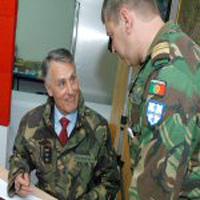 Militares portugueses  saem da Bósnia-Herzegovina