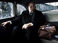 Gorbachev protagoniza a campanha publicitária das malas