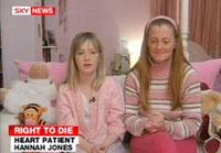 Garota de 13 anos conquista direito de morrer