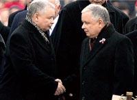 Polacos  deixaram só um Kaczynski