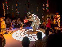 Sábado cheio no TCSB: música, ilustrações e palavras