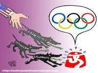 Olimpíadas da China e lixo midiático