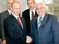 Rússia promete  o apóio humanitário  para Palestina