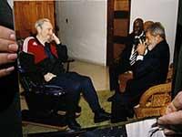 Lula  se encontrou com Fidel Castro