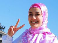 Proibição ao uso de véu leva a protesto contra discriminação. 29255.jpeg