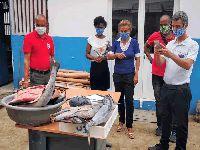 São Tomé e Príncipe: Oikos e parceiros vão distribuir uma tonelada de peixe. 33260.jpeg