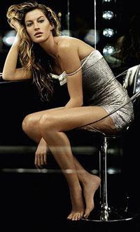Gisele Bündchen continua a ser a modelo mais bem paga do mundo