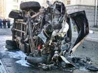 Mulher se explodiu  em microônibus no Dagestão