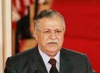 Presidente do Iraque hospitalizado na Jordânia