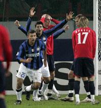 CSKA perdeu para Inter na Liga dos Campeões