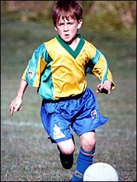 Sub-12 do Manchester contrata australiano de 9 anos