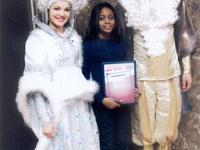 Angolana (11 anos) Embaixadora das Crianças do Mundo