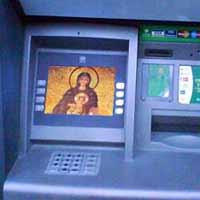 Padres russos procuram ganhar dinheiro com mensagens SMS e ATMs