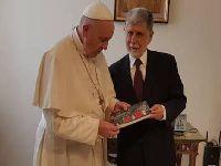 Papa Francisco envia mensagem escrita a Lula, abençoando-o. 29289.jpeg