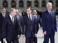Medvedev: Crise financeira é objectivo número um