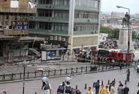 Explosão em Ancara mata seis e fere  80