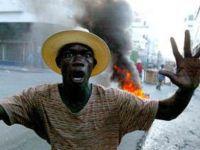 Violência policial nas ruas do Haiti em protestos contra fraudes nas eleições. 23310.jpeg
