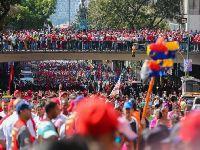 Venezuela repudia planos golpistas dos EUA e o povo chavista sai à rua. 30312.jpeg
