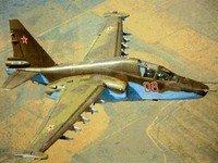 Quirguistão: EUA fora, Su-25 Frogfoot em exercícios