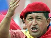 Hugo Chávez chegou à Belarus