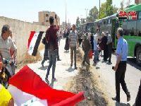 Centenas de famílias deslocadas regressam a al-Qusair, na Síria. 31323.jpeg