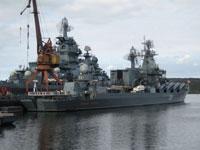 Navios russos chegam a Venezuela