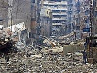Por cada tiro de rocket à Haifa dez edificios destruidos em Beirute