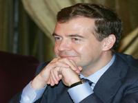 Medvedev fala da construção da paz