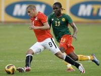 Egípto  arrasa Camarões na Copa da África