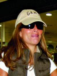 Alexandra Lencastre chorou no aeroporto de Lisboa