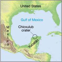Cratera de meteorito no México vira parque temático