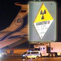 Rússia recebe da Alemanha combustivel nuclear usado
