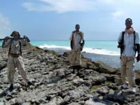Cargueiro do Iémen sequestrado por piratas da Somália na costa