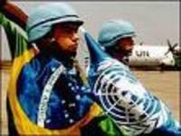 Chefe da missão de paz da ONU no Haiti elogia ajuda do Brasil