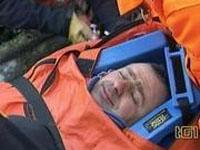 Parapentista sobreviveu ficando três dias pendurado de cabeça para baixo ( foto)