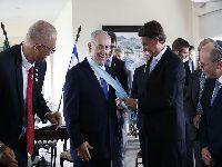 Presença de militares e homenagem feita a primeiro-ministro israelense cumprem papel político. 30371.jpeg
