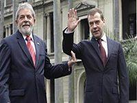 Medvedev: Aliança tecnológica Rússia-Brasil