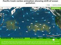 Um Oceano de plásticos